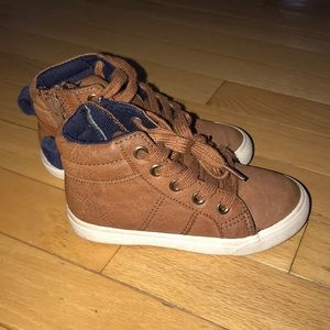 Cat & Jack mid-top toddler boy sneakers, sz. 8
